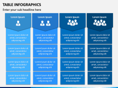 Table Infographics PPT Slide 8