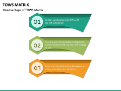 TOWS Matrix PPT Slide 14