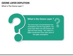 Ozone Layer Depletion PPT Slide 17