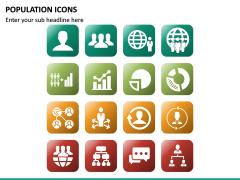 Population Icons PPT Slide 10