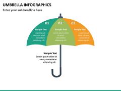 Umbrella Infographics PPT Slide 19