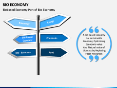 Bio Economy PPT Slide 1
