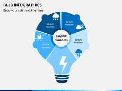 Bulb Infographics PPT Slide 5