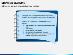 Strategic Learning PPT Slide 6