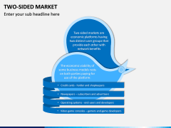 Two-Sided Market PPT Slide 1