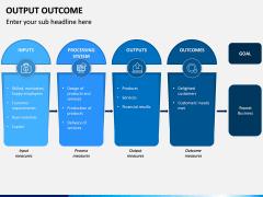 Output Outcome PPT Slide 14