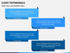 Testimonials PPT Slide 12