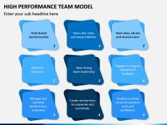 High Performance Team Model PPT Slide 14