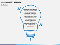 Augmented Reality PPT Slide 1