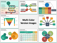 Talent Sourcing multicolor combined