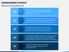 Management Buyout PPT Slide 12