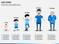 Age Icons PPT Slide 1