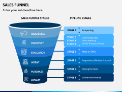 Sales Funnel PPT Slide 1