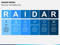 RAIDAR Model PPT Slide 3