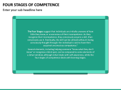 Four Stages of Competence PPT Slide 12