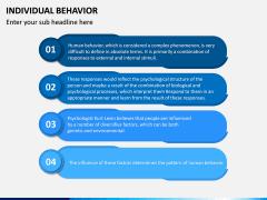 Individual Behavior PPT Slide 12