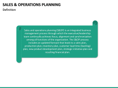 Sales and Operations Planning PPT Slide 17