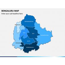 Bengaluru Map PPT Slide 1