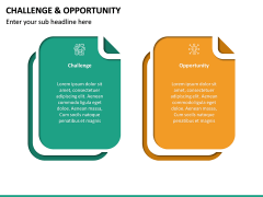 Challenge and Opportunity PPT Slide 13