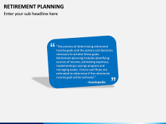 Retirement Planning PPT Slide 2