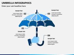 Umbrella Infographics PPT Slide 2