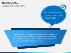 Business Case PPT slide 1