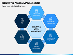 Identity and Access Management PPT Slide 1