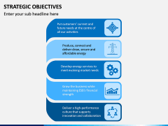 Strategic Objectives PPT Slide 12