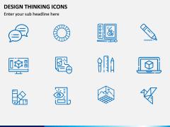 Design Thinking Icons PPT Slide 3