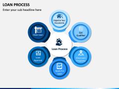Loan Process PPT Slide 1