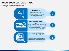 Know Your Customer (KYC) PPT Slide 1
