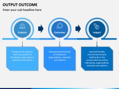Output Outcome PPT Slide 3
