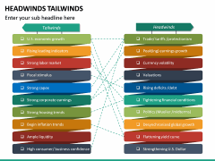Headwinds Tailwinds PPT Slide 7