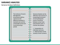 Variance Analysis PPT Slide 15
