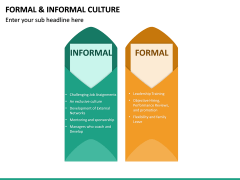 Formal and Informal Culture PPT Slide 14