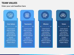 Team Values PPT Slide 2
