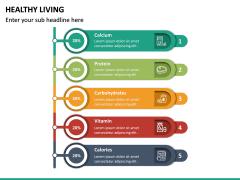 Healthy Living PPT Slide 25