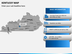 Kentucky Map PPT Slide 9