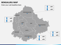 Bengaluru Map PPT Slide 9