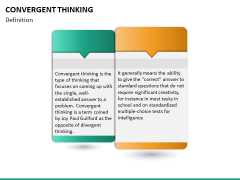 Convergent thinking PPT slide 12