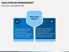 Sales Pipeline Management PPT Slide 1