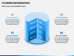 Cylinder Infographics PPT Slide 12