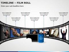 Timeline Film Roll PPT Slide 3