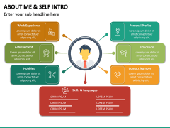 About Me / Self Intro PPT Slide 23