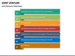 Joint Venture PPT Slide 21