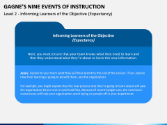 Gagne's Nine Events of Instruction PPT Slide 8
