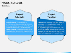 Project Schedule PPT Slide 1