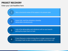 Project Recovery PPT Slide 13