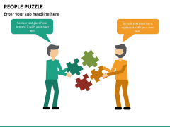 People Puzzle PPT Slide 18