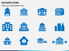 Building Icons PPT Slide 12